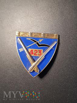 Odznaka 423 Pułku Artylerii Przeciwlotniczej
