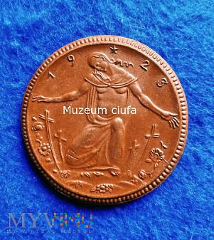 Medal 1923 - MIŚNIA - KRIEGER GEDACHTNIS STATTE
