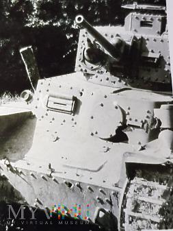 Duże zdjęcie Niemcy - Fotografie z albumu - Czołg Pz.Kpfw. 38
