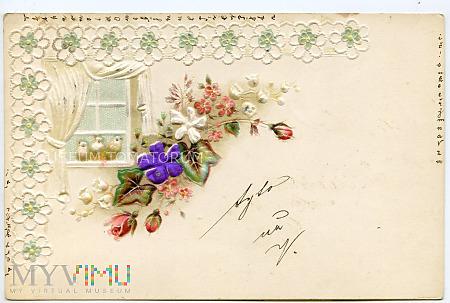 Pocztówka artystyczna - 1900
