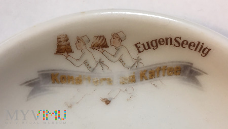 Duże zdjęcie Talerzyk Konditorei und Kaffee Eugen Seelig