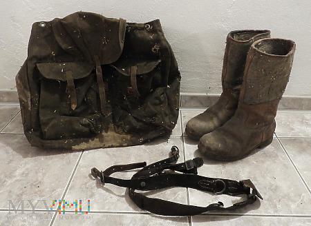 Plecak niemiecki wojskowy