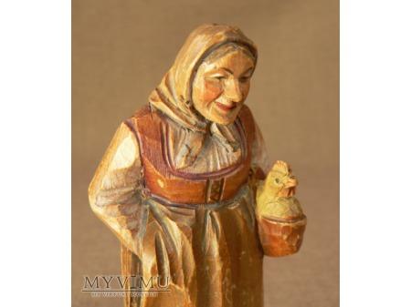 Kobieta z kurczakiem -ANRI