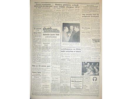 GAZETA POMORSKA nr.64 15.03.1956