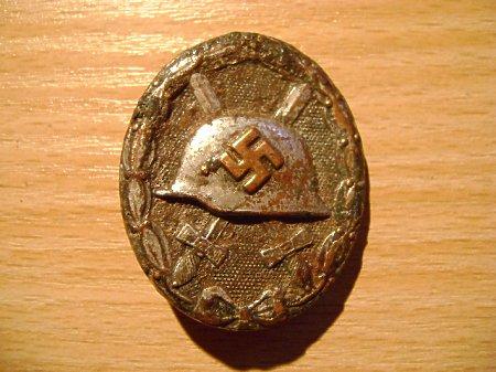 srebrna odznaka za rany