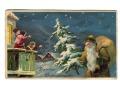 Święty Mikołaj Green Robe Santa Claus St Nicholas