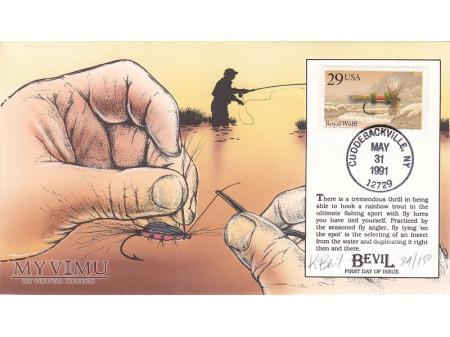Duże zdjęcie USA 1991 - FDC Bevil