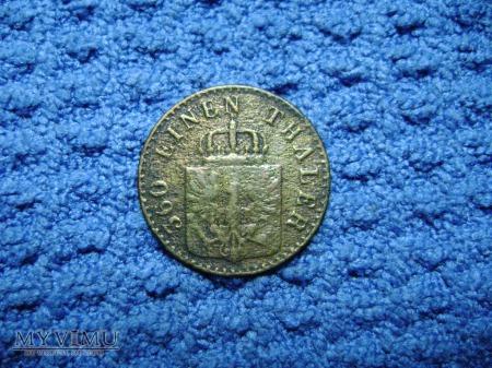 1 pfennig 1850
