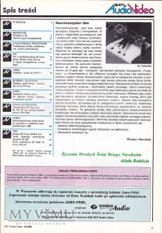 SAT AUDIO VIDEO 1992 rok, cz.III