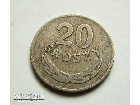 PRL-20 groszy rok 1949