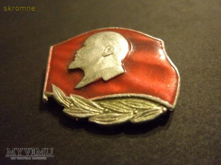 odznaka z Leninem