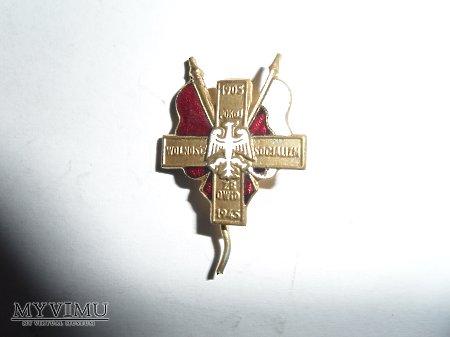 Odznaka pamiątkowa ZBoWiD-owca