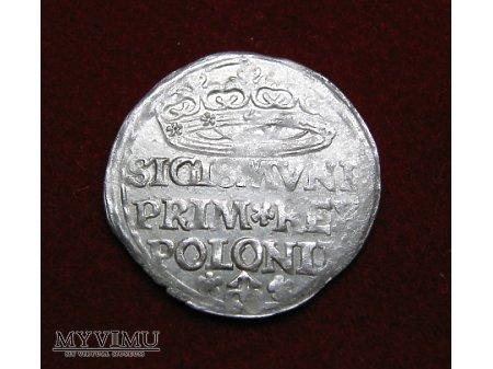 Grosz koronny 1527 Zygmunt I Stary
