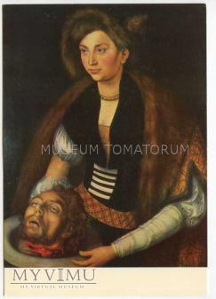 Cranach - Salome niesie głowę św. Jana