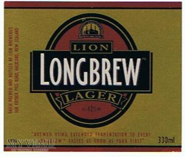 lion breweries - long brew lager