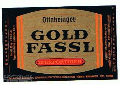 ottakringer brauerei - gold fassl exportbier