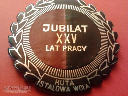 Jubilat XXV lecia pracy Huta Stalowa Wola