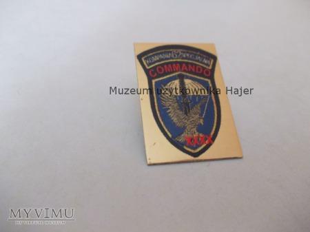 Odznaka wpinka 62 ks Commando XXXX lat
