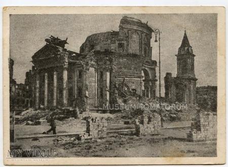 W-wa - Kościół św. Aleksandra - 1946