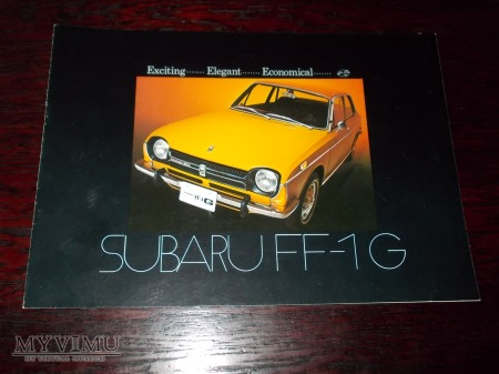 Prospekt SUBARU FF-1G