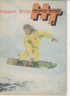 Duże zdjęcie HORYZONTY TECHNIKI 1989 r. nr.3