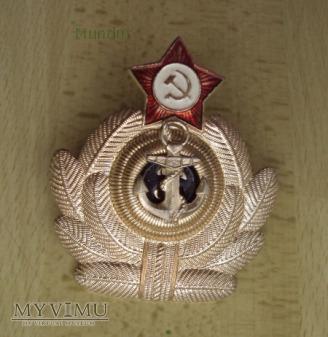 Godło oficerskie do czapek Военно-Морского Флота