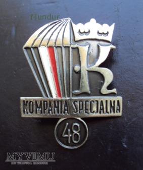 Odznaka 48 KOMPANIA SPECJALNA