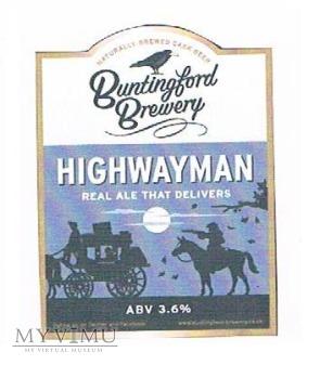 buntingford brewery - highwayman
