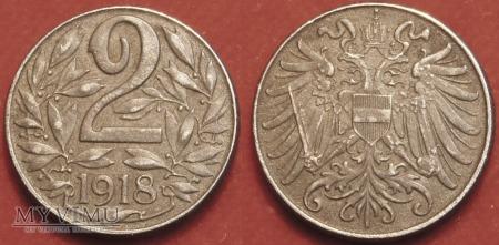 Austria, 2 Heller 1918