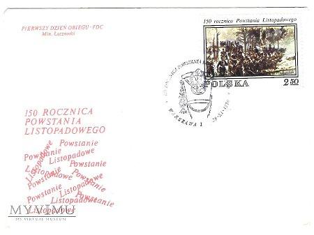 150 rocznica Powstania Listopadowego.