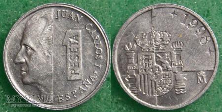 Hiszpania, 1 PESETA 1998
