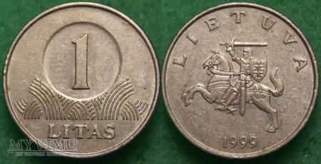 Litwa, 1 litas 1999