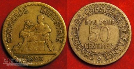 Duże zdjęcie Francja, 50 CENTIMES 1923