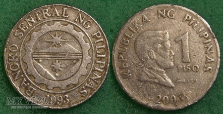 Filipiny, 1 PISO 2003