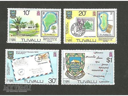 Znaczki Tuvalu