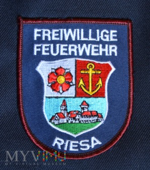 Oznaka Freiwillige Feuerwehr ZEHREN