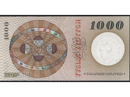 1000 zł 1965 r.