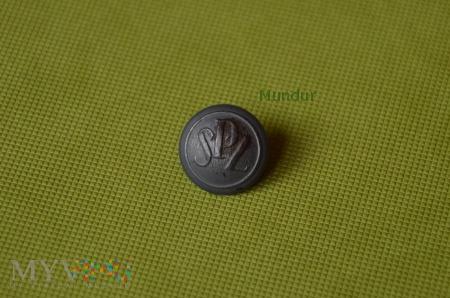 Guzik mundurowy aluminiowy mały SPZ