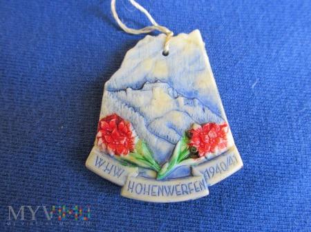 Alpejski Salzburg-zawieszki KWHW-Hohenwerfen