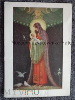 Jungfrau Mutter Matka boska dziewica z gołębiami
