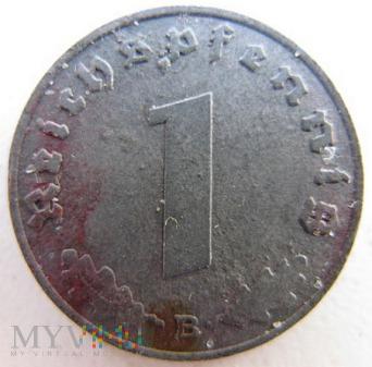Duże zdjęcie 1 reichspfennig 1943 Niemcy (Trzecia Rzesza)