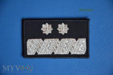 Oznaka stopnia: generalny inspektor