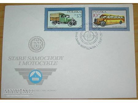 Duże zdjęcie Stare samochody i motocykle FDC Ursus i Zawrat