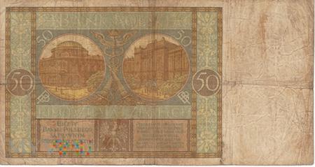POLSKA 50 ZŁOTYCH 1929